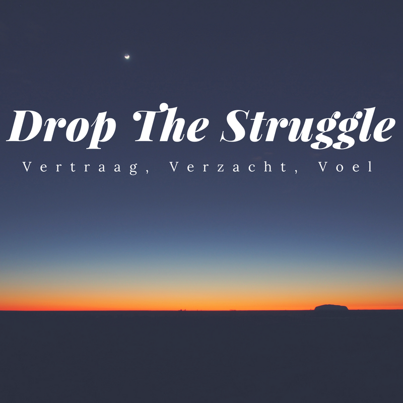 Drop the Struggle plaatje